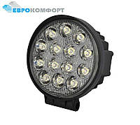 Робоча Фара LED 42W/30° (14x3W, 3080 lm, вузький промінь 30°) 14 ламп