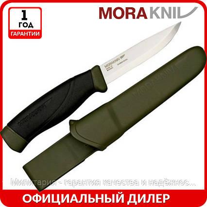 Нож Morakniv Companion Heavy Duty   туристический нож mora 11746   мора Companion 12494   Made in Sweden, фото 2