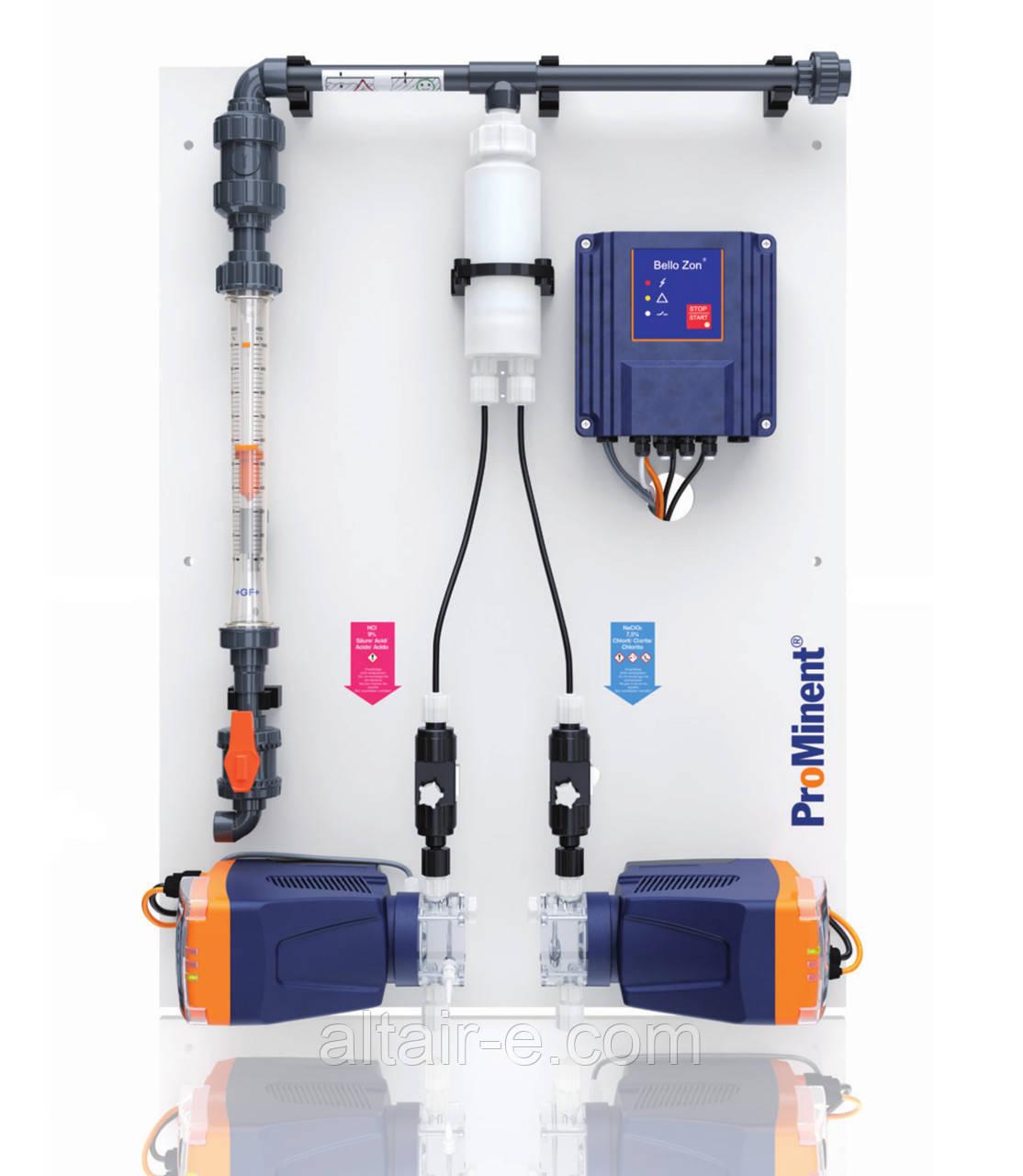 Установка для получения диоксида хлора 30 г/час  Bello Zon CDEb 30