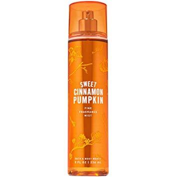 Спрей для тела Sweet Cinnamon Pumpkin Bath and Body Works