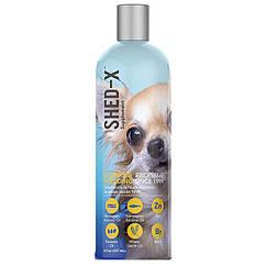 Добавка для шерсти SynergyLabs Shed-X Dog собак, против линьки 237 мл