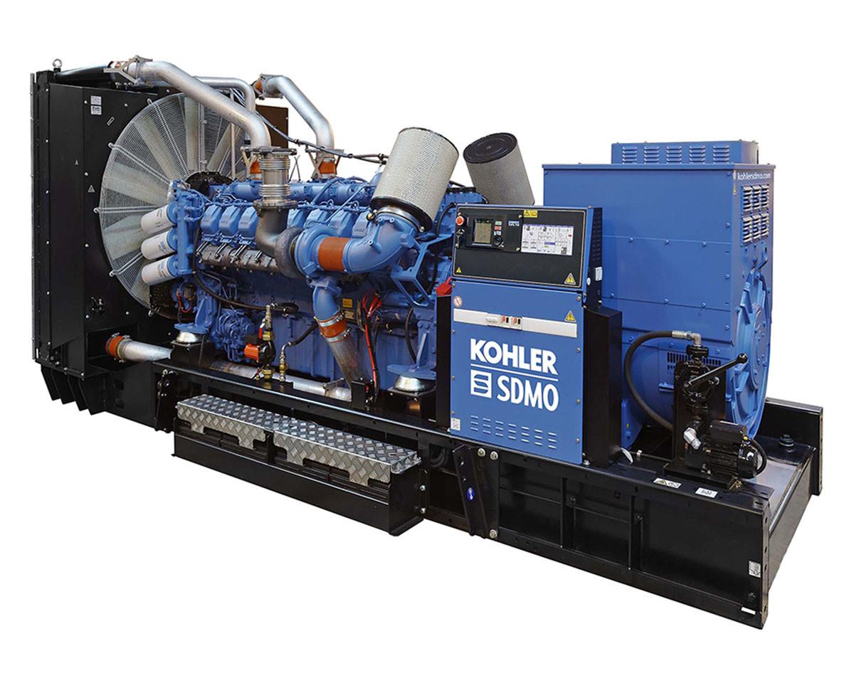 Трехфазный дизельный генератор SDMO X1250C (1000 кВт)