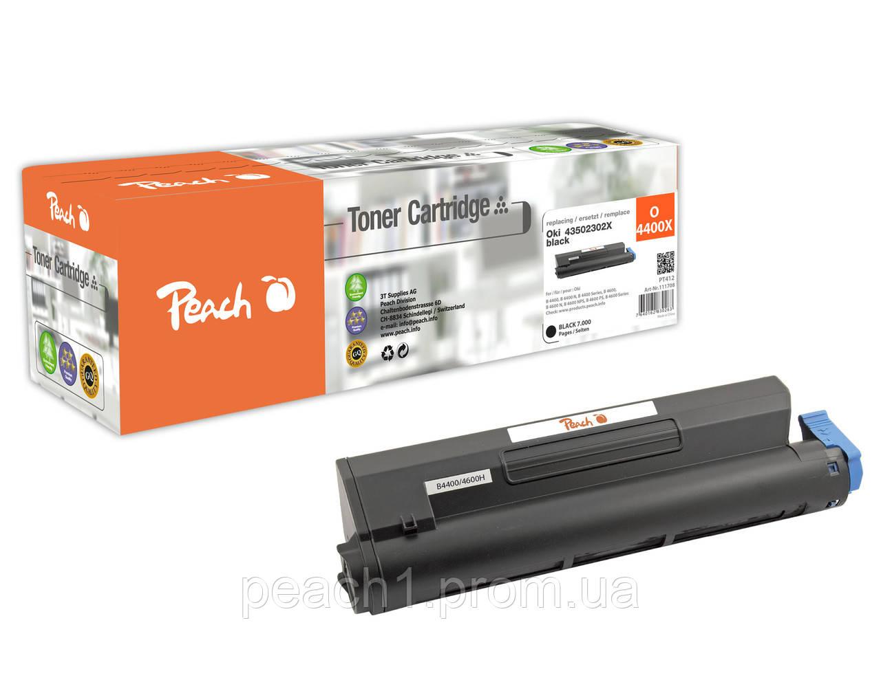 Лазерный картридж черный (black) XL Oki 43502302X