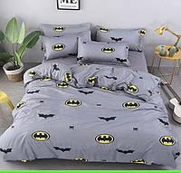 """Детский полуторный комплект постельного белья """" Бетмен """""""
