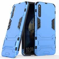 Чехол накладка Ricco Iron Man для Huawei Magic 2 голубой