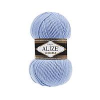 Пряжа для вязания ALIZE LANAGOLD,цвет 40, 51% Акрил, 49% Шерсть