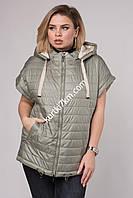 Женская жилетка большого размера Dazer 056, фото 1