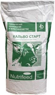 Заменитель цельного молока Кальво Старт Грин 12 для телят с 12 дня, 25 кг/упак