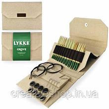 Набір спиць Lykke Grove Jute (12 пар/12 см)