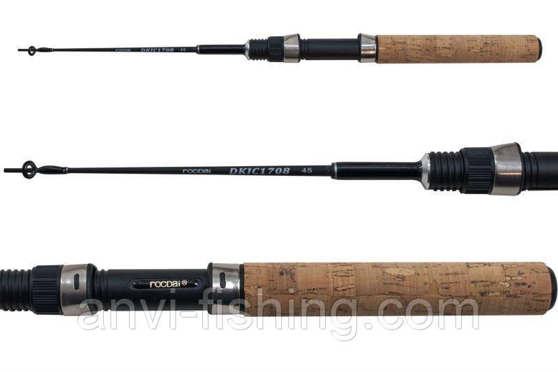 Удочка для зимней рыбалки Rocdai DKIC 1708 Glass