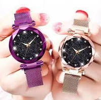 Элегантные женские часы Starry Sky на магнитном ремешке