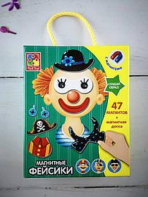 """Гра на магнітах """"Фейсики"""" VT3702-09 Vladi Toys Україна"""