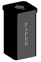 Контейнер для макулатуры (Офис, ОСМД,, ТЦ, школа)