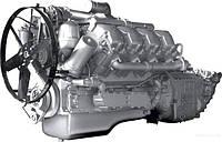 Двигатель ЯМЗ-7511 (V8) турбо