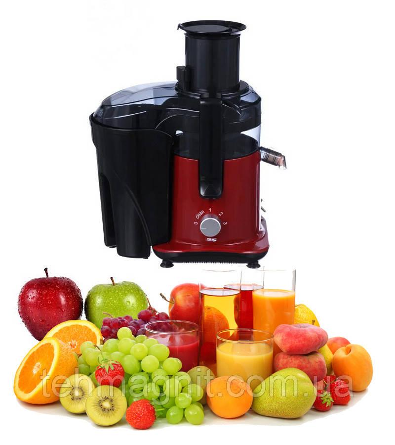 Соковыжималка DSP KJ 3031 электрическая для твердых овощей и фруктов 2л 700W