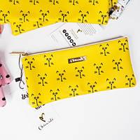 Косметичка Пенал Cats Yellow, фото 1
