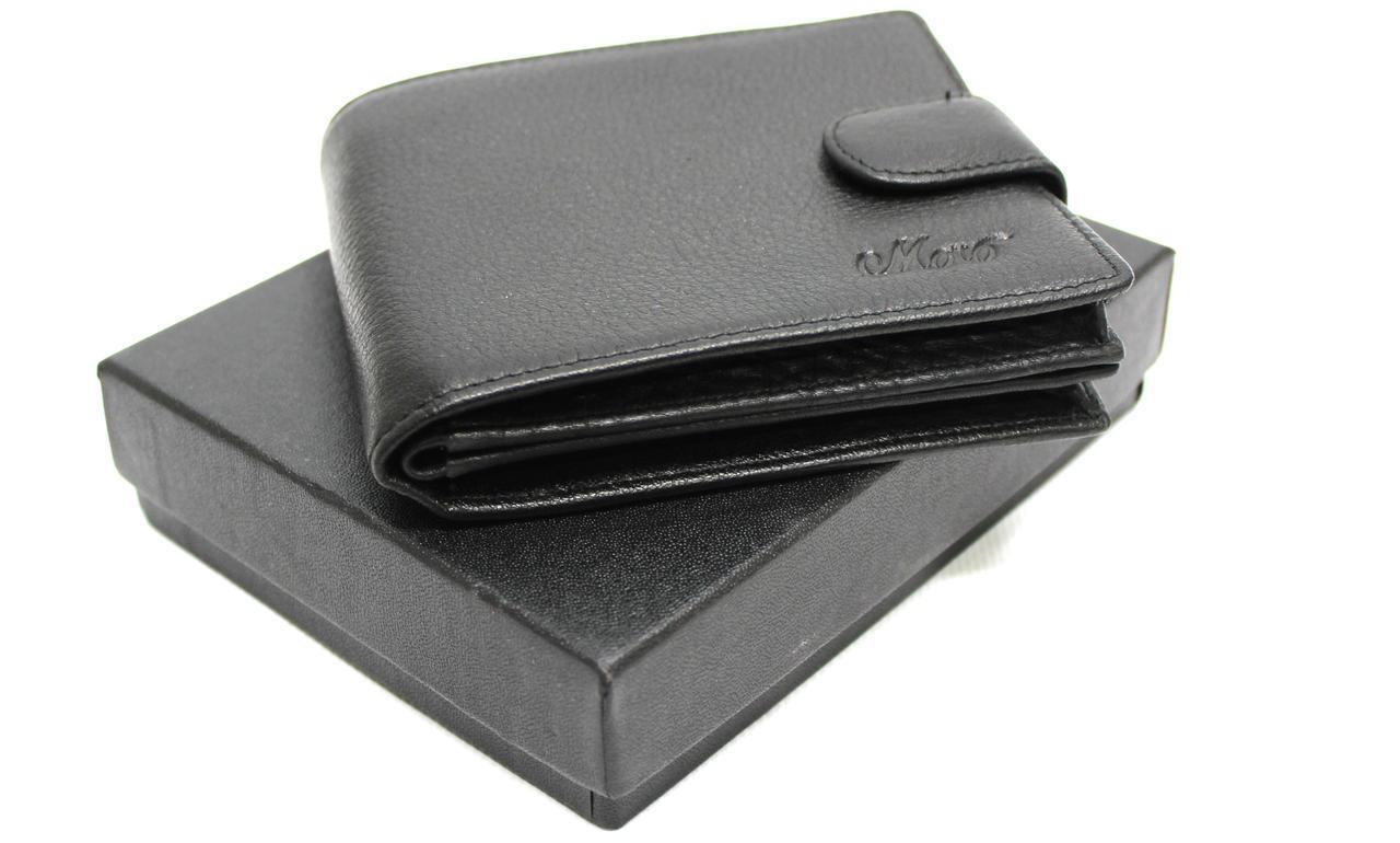"""Кожаный мужской кошелек-портмоне """"Moro"""" YR 408"""