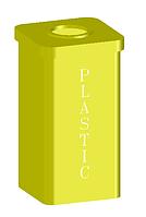 Контейнер для пластика (Офис, ОСМД,, ТЦ, школа)