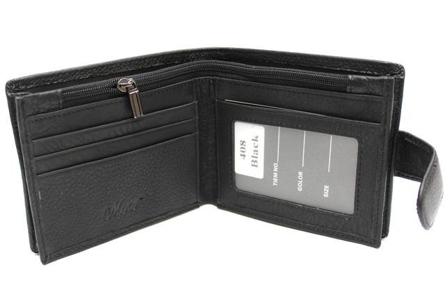 Кожаный мужской кошелек-портмоне