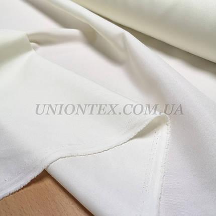 Ткань габардин молочный, фото 2