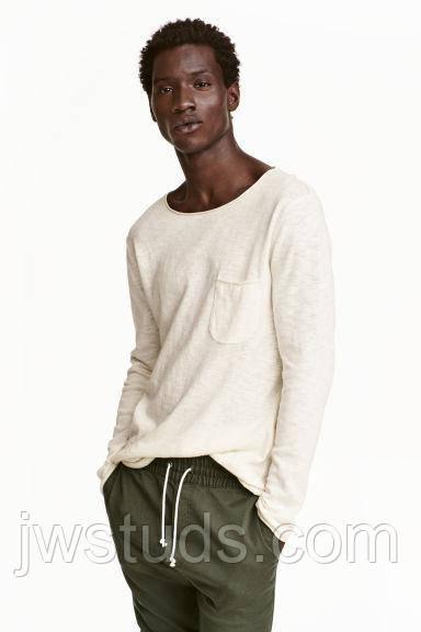 Модный мужской свитер ХL Hennes & Mauritz