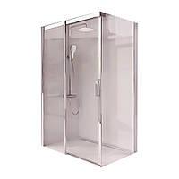 Душевой уголок Ravak Matrix 120 см MSDPS-120/90 R полированный алюминий+transparent