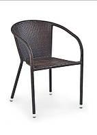 Крісло MIDAS темно-коричневий (Halmar)