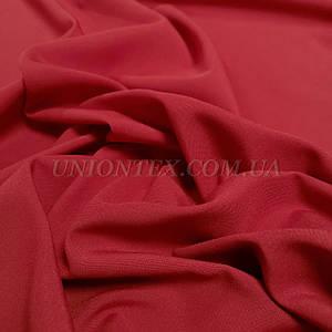 Ткань габардин красный