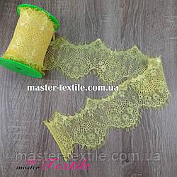 Французcкое Кружево 9,5 см (желтое)