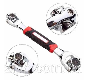 Універсальний багатофункціональний гайковий ключ Універсальний Tiger Wrench 48 1