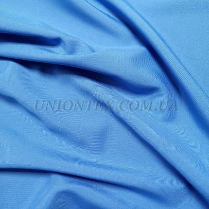 Ткань габардин голубой, фото 2