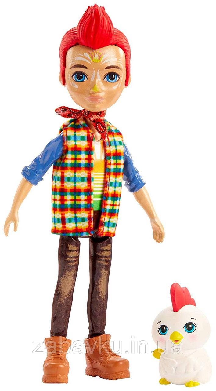 Лялька Енчантімалс Півень Редвард Enchantimals Redward Rooster Doll