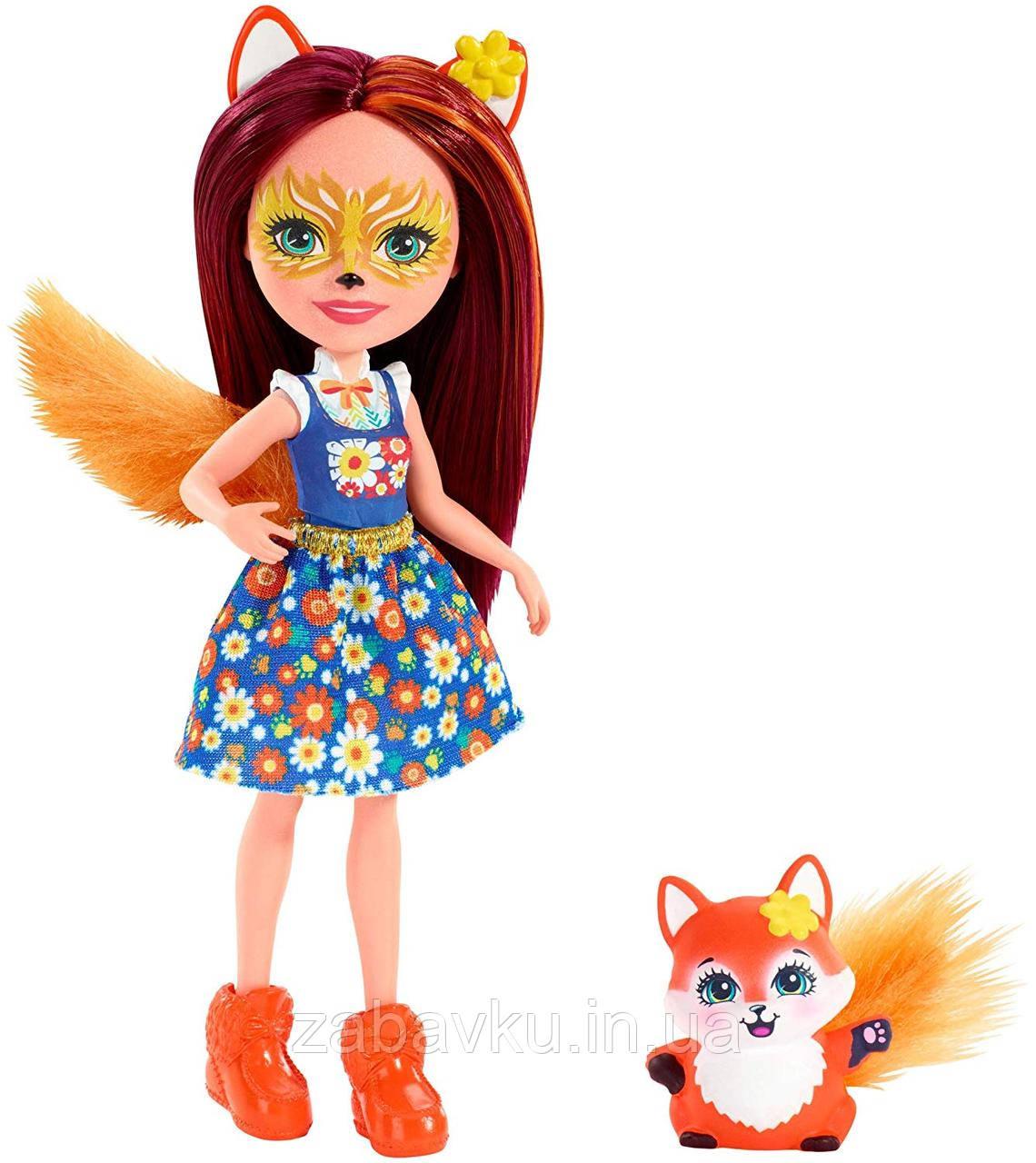 Лисичка Фелісіті і Флік Енчантімалс, Enchantimals Felicity Fox Doll