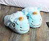 Домашние тапочки Единорог Голубой