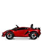 Электромобиль детский Lamborghini M 4093 EBLRS-3 автопокраска красный, фото 2