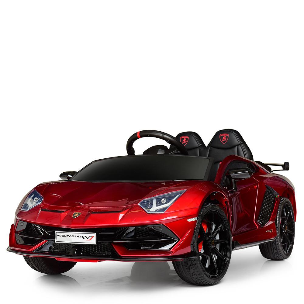 Электромобиль детский Lamborghini M 4093 EBLRS-3 автопокраска красный