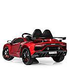 Электромобиль детский Lamborghini M 4093 EBLRS-3 автопокраска красный, фото 4