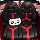 Электромобиль детский Lamborghini M 4093 EBLRS-3 автопокраска красный, фото 7