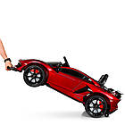Электромобиль детский Lamborghini M 4093 EBLRS-3 автопокраска красный, фото 8