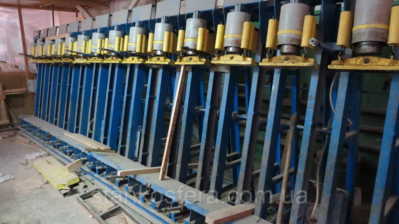 Гидравлический пресс-вайма б/у ПС-Астра-ПП вертикальный для производства клееного бруса