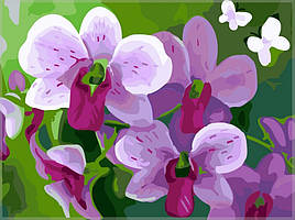 "Картина по номерам. Brushme ""Цветки"" GX7263"