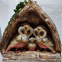 Денежная сова фэн - шуй, символ мудрости и благополучия, размер 22 * 19 см.