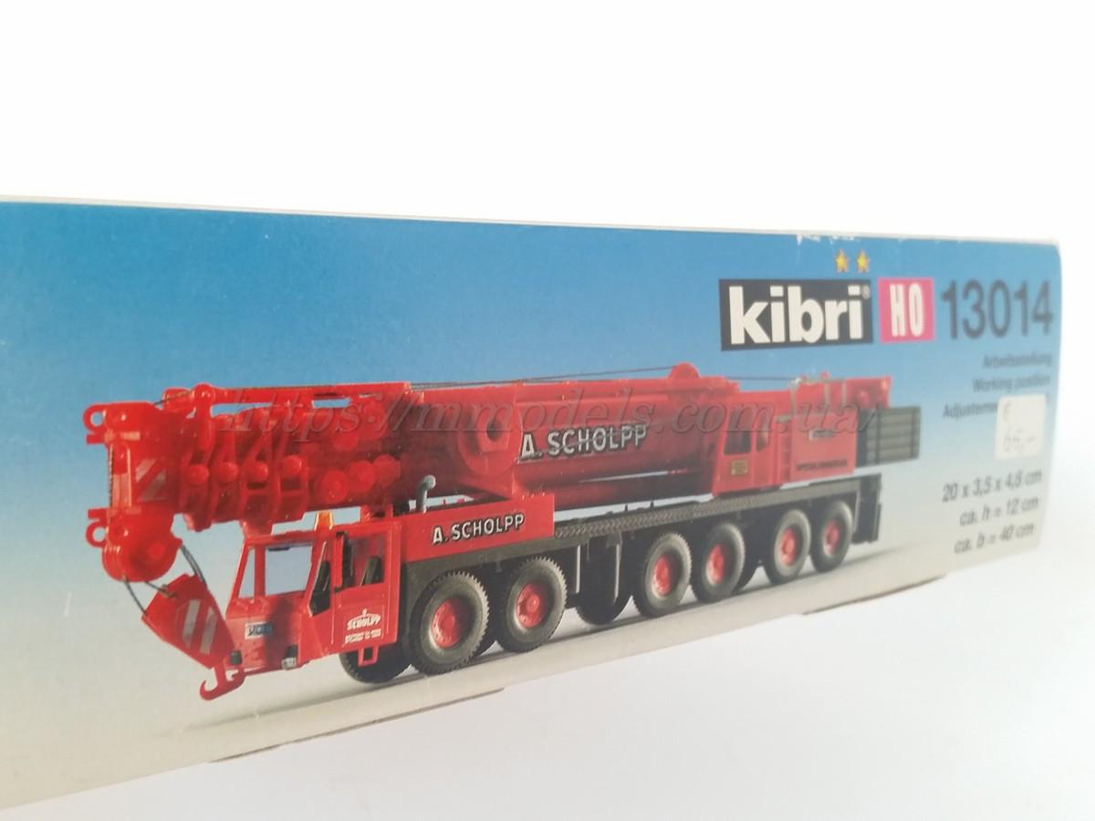 Kibri 13014 Сборная модель автокрана DEMAG AC 665 с телескопической стрелой г/п 250тонн, масштаба 1/87,H0