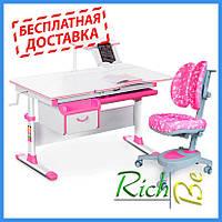 Детская парта со стульчиком трансформер Evo-kids Evo-40 New