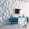 Декоративная 3д панель Пузыри