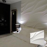 Декоративная 3д панель Лотос