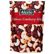 Горіхи мікс Alesto Cashew Cranberry з кеш'ю та журавлиною 200 грам