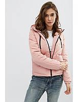 """Женская демисезонная куртка """"Memory"""" (бордо, хаки, розовый, черный, синий)"""