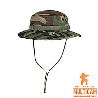 Панама Helikon-Tex® BOONIE Hat - PolyCotton Ripstop - US Woodland, фото 1