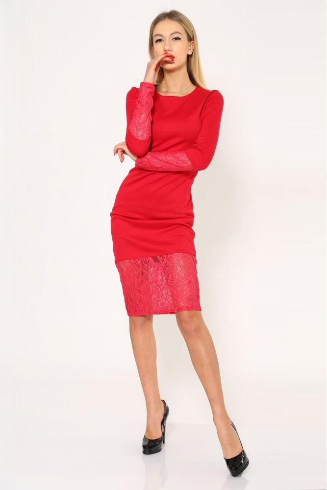 Платье женское цвет Красный размер S